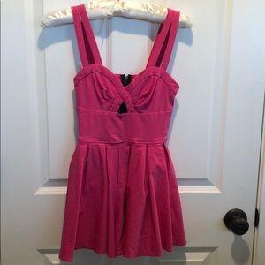 Material girl pink romper